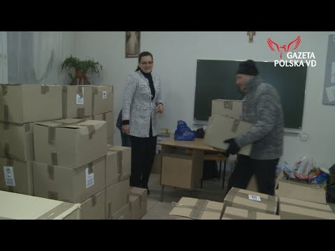 NASZ REPORTAŻ: Pamiętamy o naszych rodakach - świąteczne paczki dotarły do Stanisławowa