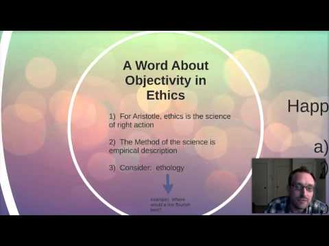 21.  Happiness as Eudaimonia:  Aristotles Virtue Ethics
