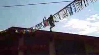 Throwing Bike Off Roof