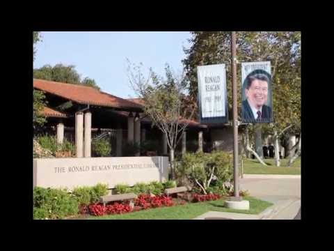 The Ronald Reagan Presidential Library - Simi Valley, CA, USA