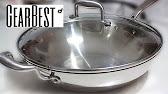 Медная сковородка - YouTube