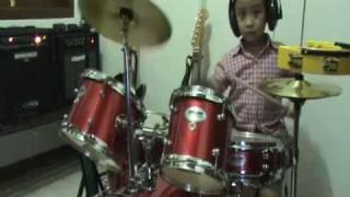 """Alif Drums cover """"lepas masa lalu by radja"""""""