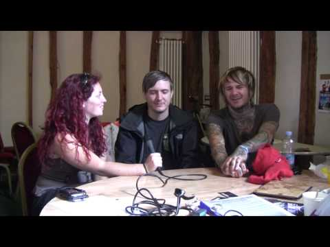 Chiodos interview @ Sonisphere Festival 2014