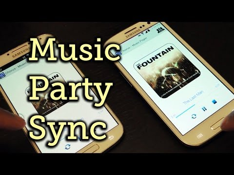 Group Play Songs Simultaneously Through Multiple Android Devices - Samsung Galaxy S3 [How-To]