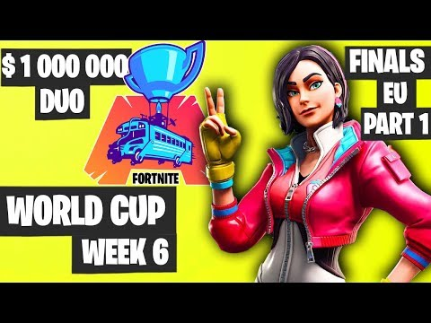 Fortnite World Cup Week 6 Highlights Final EU Duo Part 1 [Fortnite Tournament 2019]