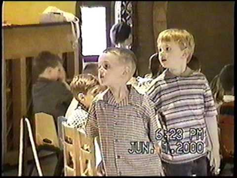 St Marks Nursery School Graduation June 2000