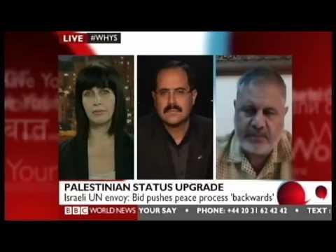 BBC Debate on Palestinian Non-Member Observer Status