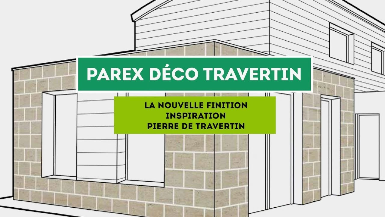 Enduit Facade Organique Parex DÉco Travertin Enduit De Parement Aspect Pierre De Travertin