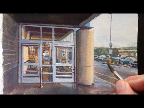 how-i-paint-a-supermarket-entrance-(you'll-be-surprised-by-my-messy-start)