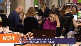 Смотреть видео Госдума приняла закон о фейковых новостях - Москва 24 онлайн