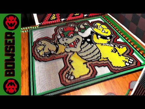 Bowser (IN 25,685 DOMINOES!)