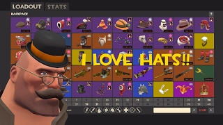 My Loadouts and backpack in TF2