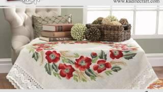 Kadife Duftin Tablecloth Embroideries