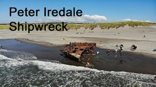 Peter Iredale Shipwreck (4k)