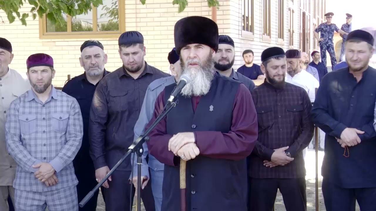 В селе Верхний Герзель Гудермеского района состоялась торжественная церемония открытия новой мечети