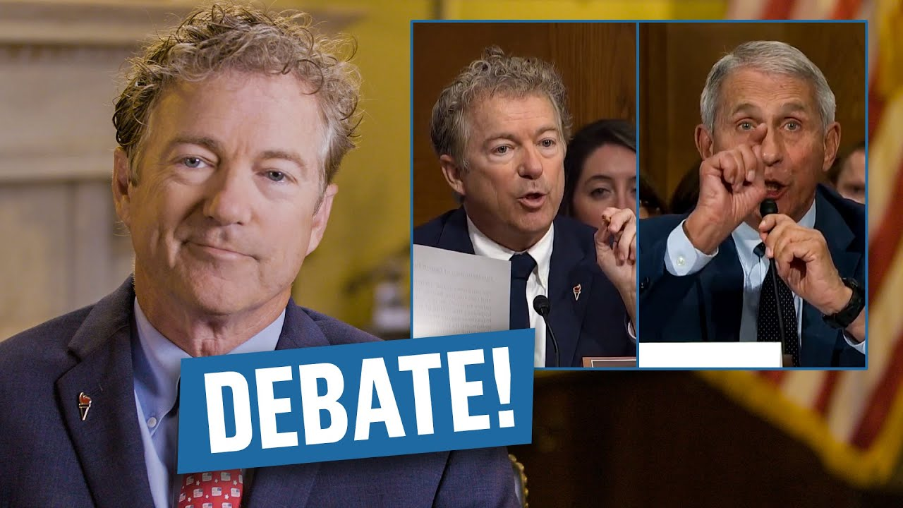Rand Paul Breaks Down His Viral Debate With Dr. Fauci