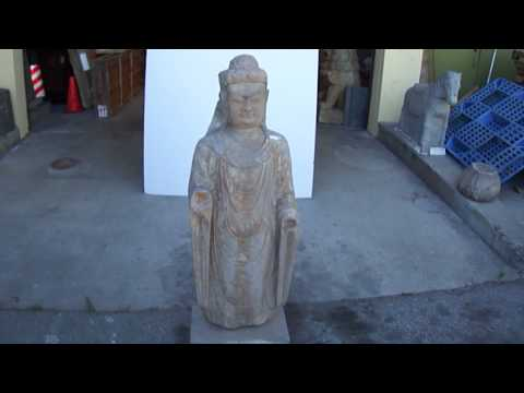 Chinese Antique Buddha Statue WK1905