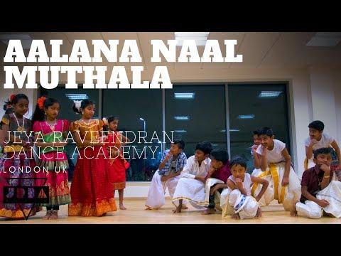 AALANA NAAL MUTHALA   JRDA   Tamil Dance Class   London   Redbridge kid  Kadhal Kavithai   Ilayaraja