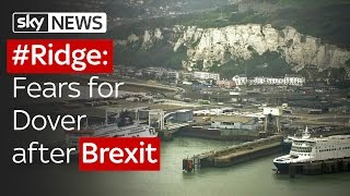 Fears for Dover after Brexit