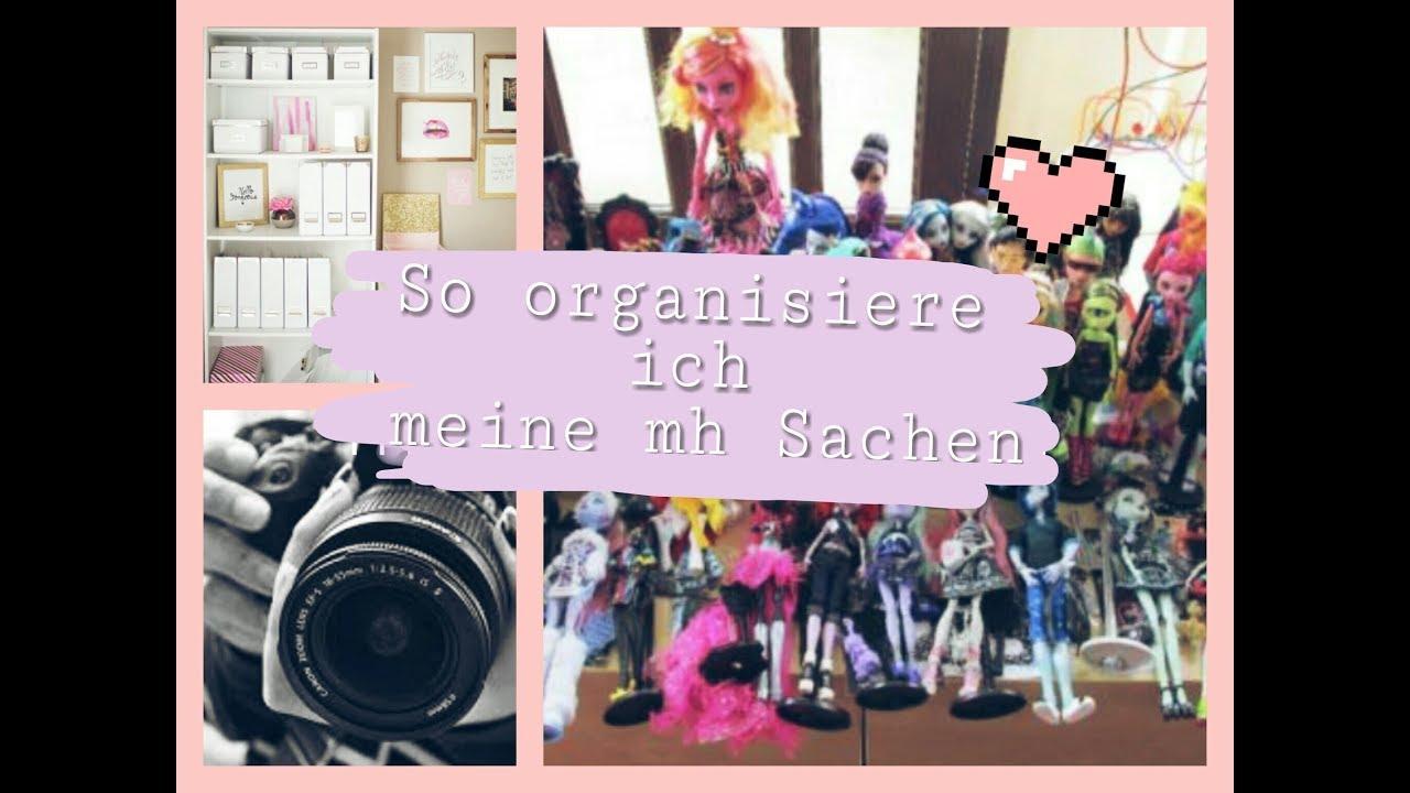 So organisiere ich meine mh sachen🙊(ohne MH Haus)🌼 - YouTube