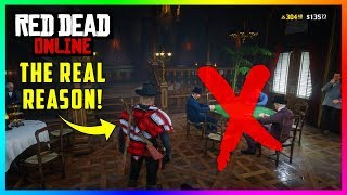 The REAL Reason Why Most People Are Blocked From Playing Poker In Red Dead Online! (RDR2 DLC Update)