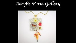 Transparent Jewelry With Lisa Pavelka Acrylic Forms