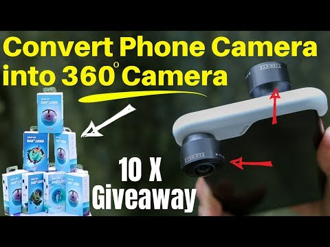 Convert Your Smartphone Camera into 360 degree Camera With THIS -360 Panoclip Review & 10XGiveaway
