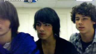 Jonas Brothers Live Chat (sept 2007) - part 3