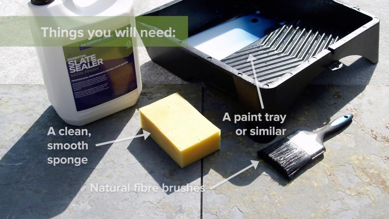 How to seal natural slate tiles satin gloss sealer sc4u how to seal natural slate tiles satin gloss sealer sc4u essential range doublecrazyfo Choice Image