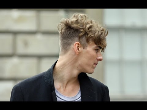 Undercut Hairstyle With Curly Hair Youtube