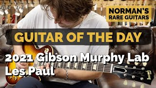 Download Guitar of the Day: 2021 Gibson Murphy Lab Les Paul R9 | Norman's Rare Guitars