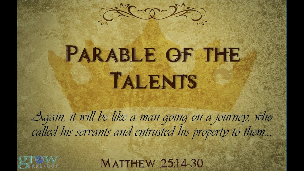The Parable of the Talents - YouTube