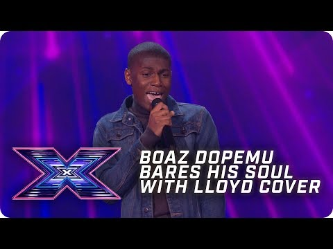 Boaz Dopemu bares his SOUL with Lloyd cover! | X Factor: The Band | Arena Auditions
