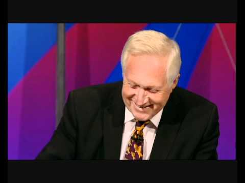David Dimbleby magnificiently recognises Twitter's DIMBLEBOT on Question Time