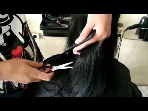 Potong Rambut Segi Pendek Youtube
