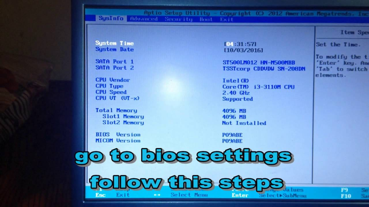 how to boot from usb windows 7 in samsung laptop
