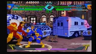 Xmen vs. Street Fighter {Ryu & Cyclops} [KAWA-X ARCADE] (EMULATED ON XBOX CLASSIC) #120 LongPlay SD