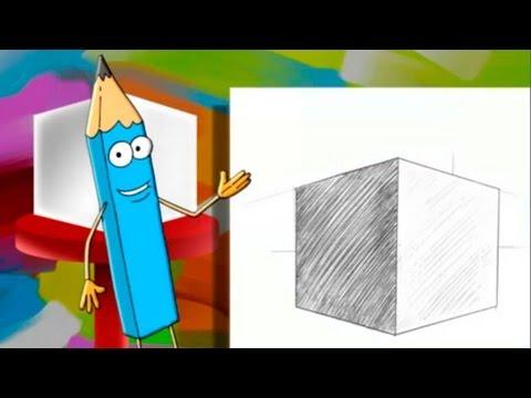 Развивающие мультфильмы - Учимся рисовать