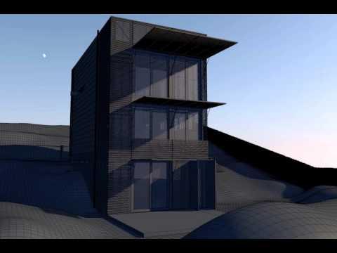 Casa carter tucker modellazione e animazione parte 1 for Carter home designs