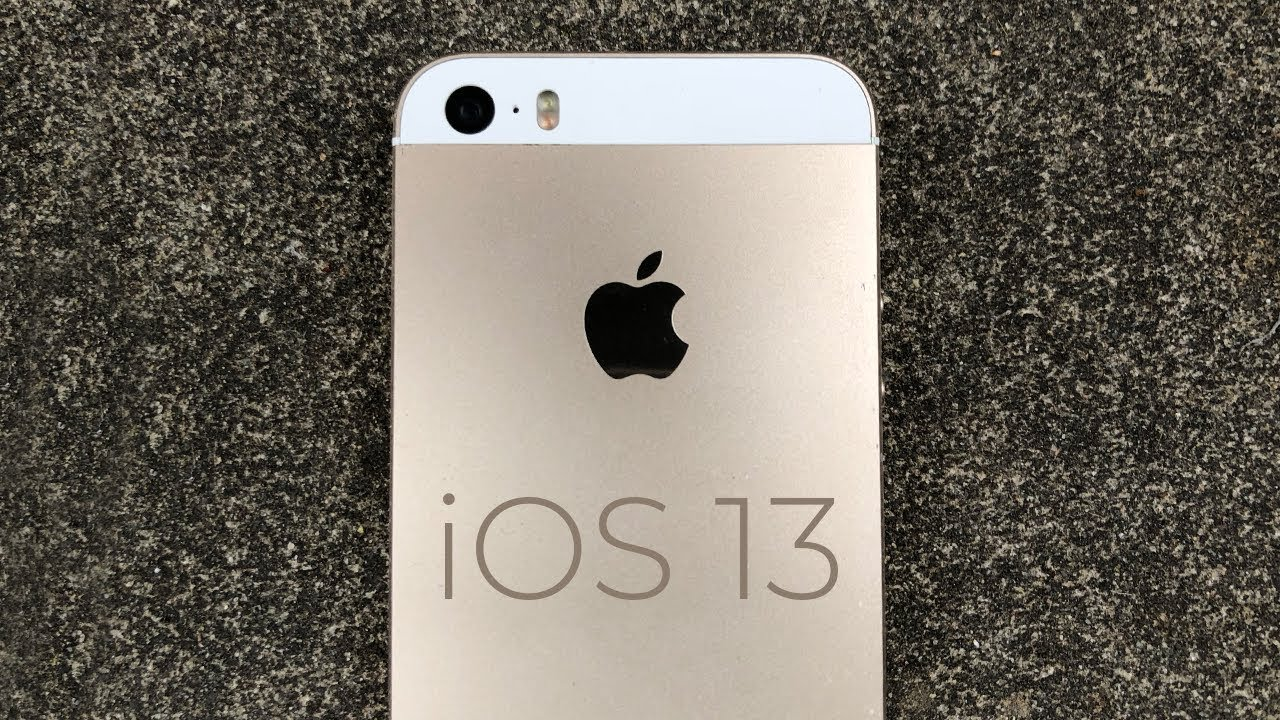 Will The Iphone 5s Get Ios 13 Youtube