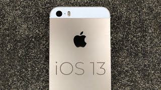 Will the iPhone 5S get iOS 13?