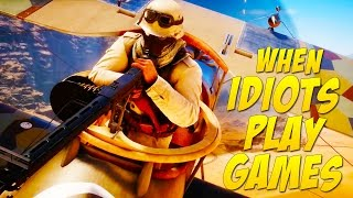 Flying In Circles! (When Idiots Play Games #17)