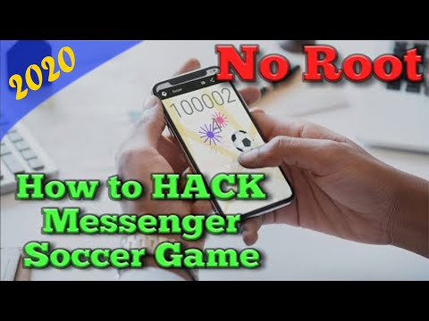 How To Get Unlimited Scores In Messenger Soccer / Football Without Rooting (2018) |