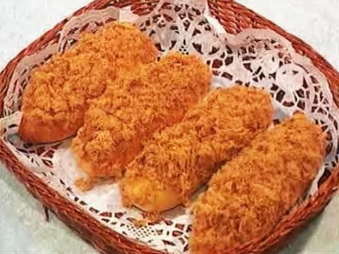 Meat Floss Bun  # Baking Series # 4_R1