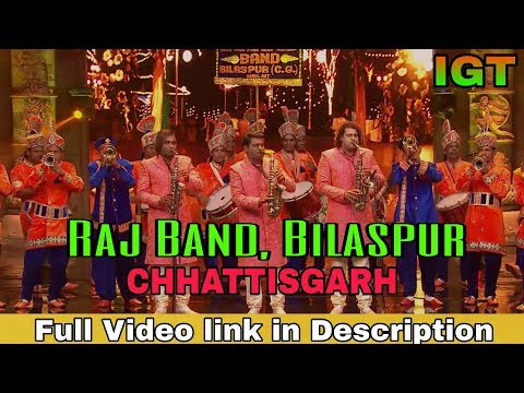 Raj Band Bilaspur Chhattisgarh In India's Got Talent