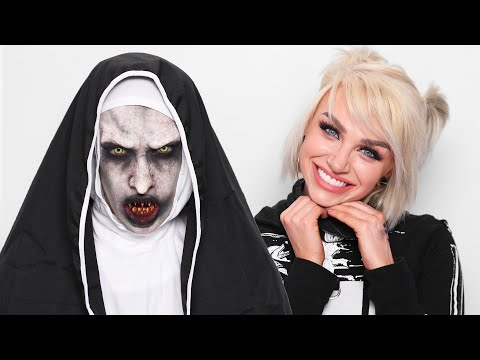 The Nun Halloween Transformation ft. Glam&Gore