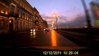 Пример работы видеорегистратора Hyundai H DVR05 Часть 1 смотреть