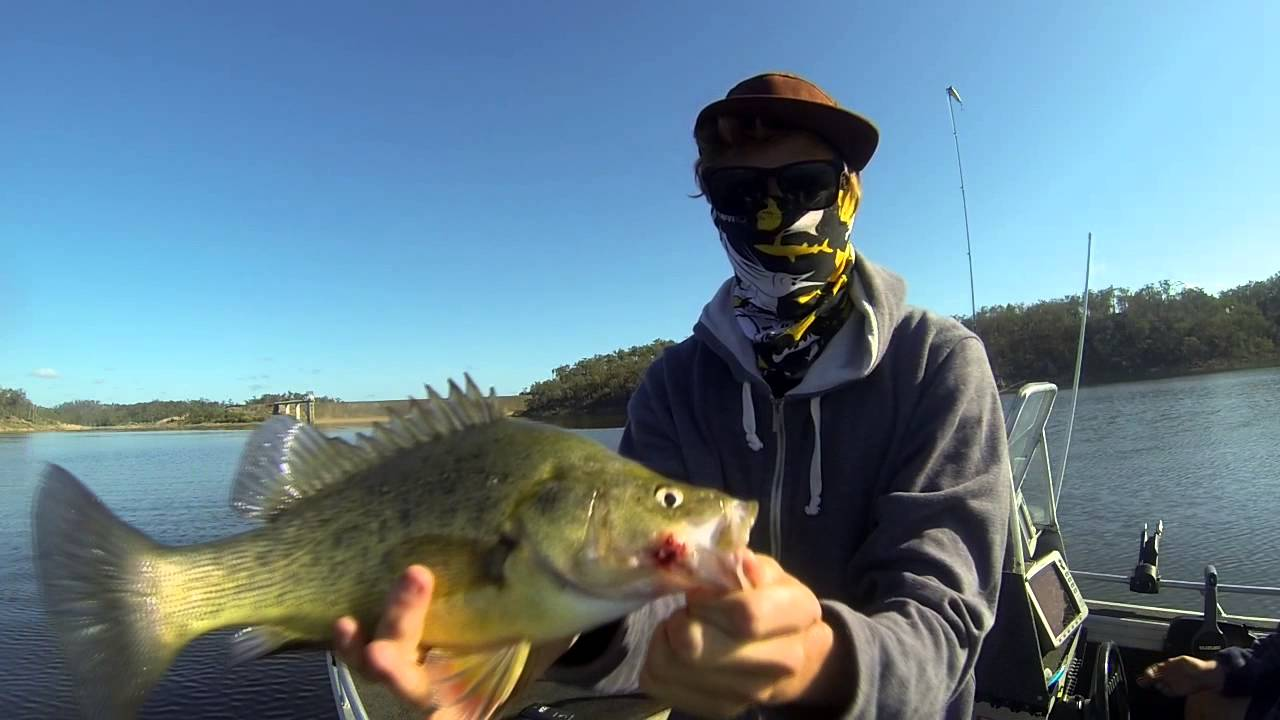 Boondooma dam fishing from boat youtube for Youtube fishing video