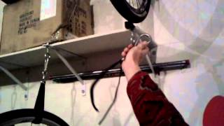 Home-made Bike Storage System