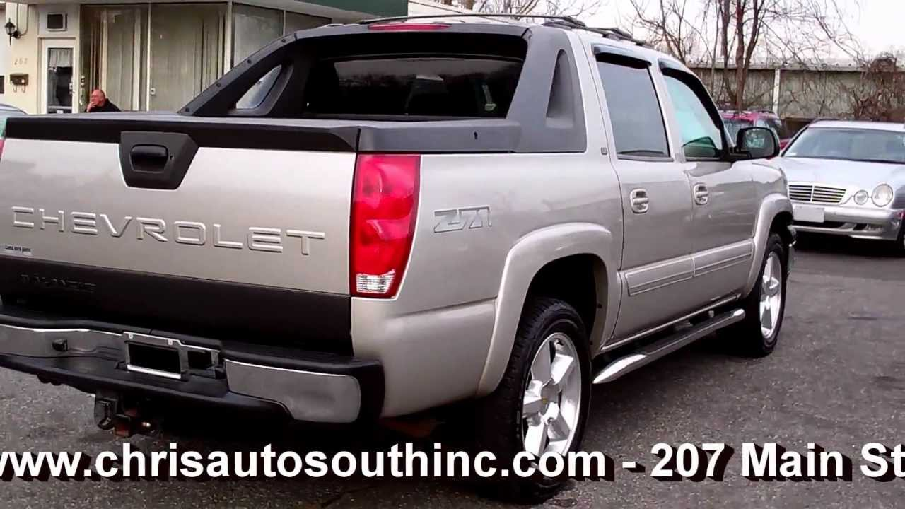 2005 chevrolet avalanche lt sport utility pickup z71 off road 4dr 5 3l v8 at